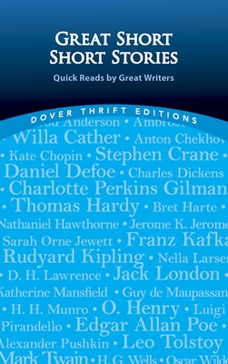 Great Short Short Stories: Quick Reads by Great Writers by Paul Negri