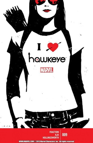 Hawkeye #9 by David Aja, Matt Fraction
