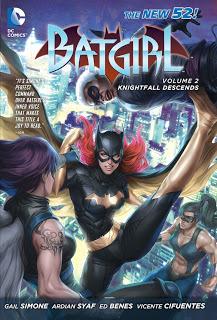 Batgirl, Vol. 2: Knightfall Descends by Vicente Cifuentes, Ardian Syaf, Gail Simone, Ed Benes, Alitha Martinez