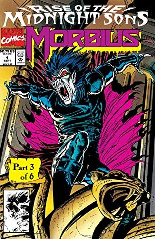 Morbius: The Living Vampire (1992-1995) #1 by Mike Witherby, Ron Wagner, Len Kaminski