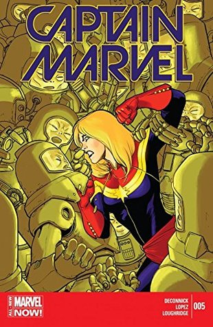 Captain Marvel (2014-2015) #5 by Lee Loughridge, Kelly Sue DeConnick, David López