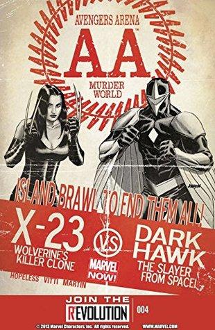 Avengers Arena #4 by Dennis Hopeless, Frank Martin, Alessandro Vitti, Dave Johnson