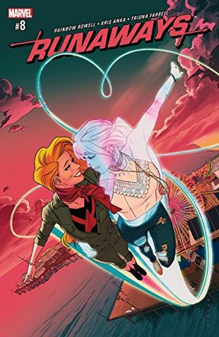 Runaways #8 by Rainbow Rowell, Kris Anka