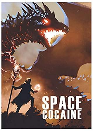 Space Cocaine by A. W. McCollough, Grá Linnaea, Mark Teppo, Jessie Kwak
