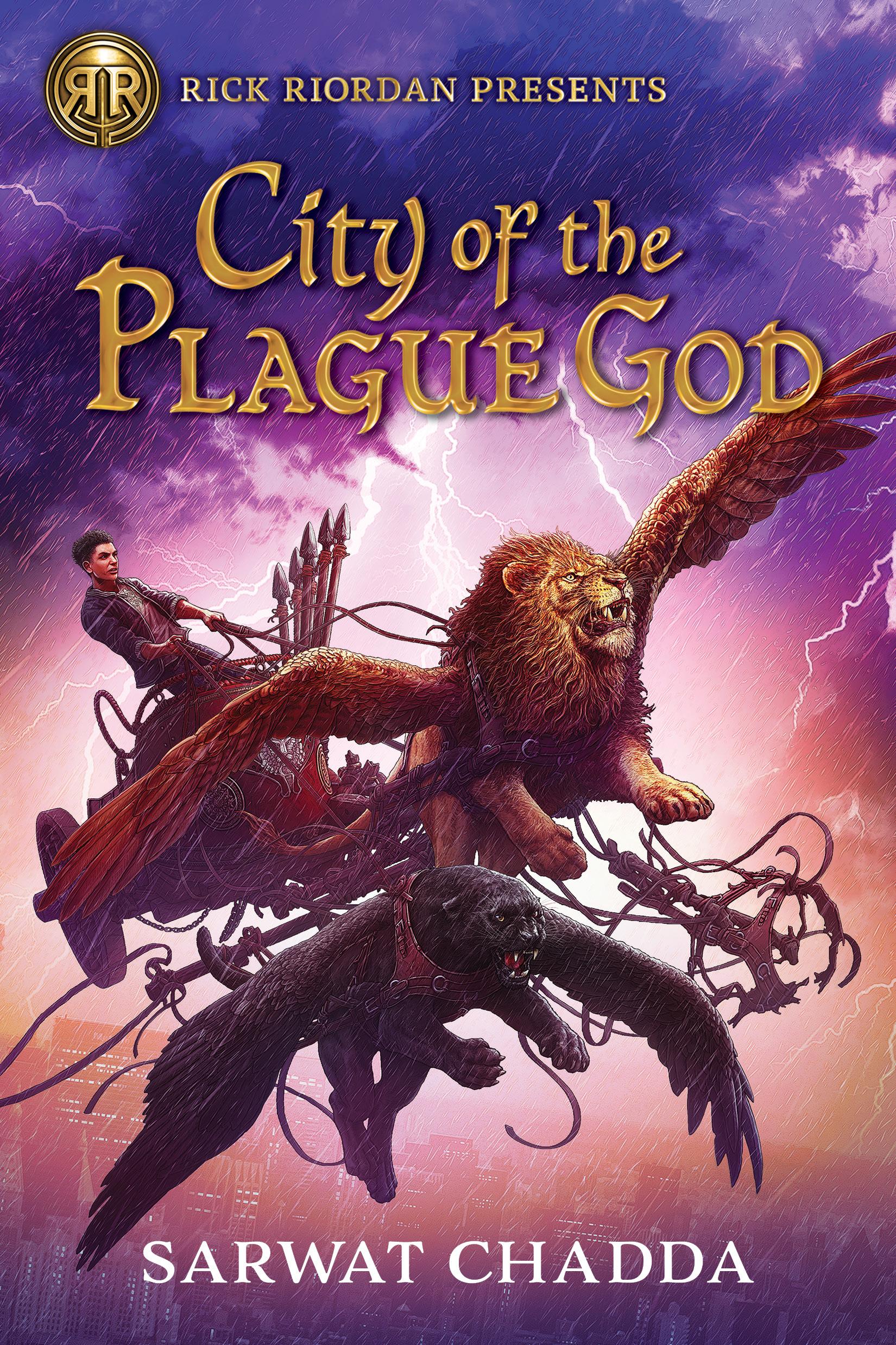 City of the Plague God by Sarwat Chadda