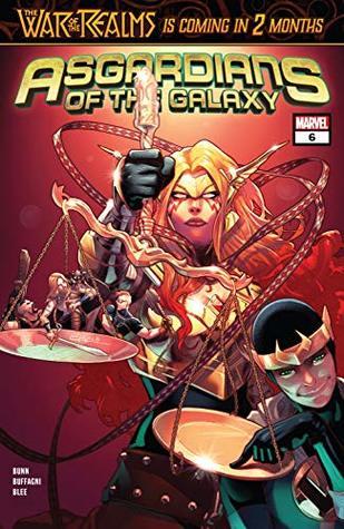 Asgardians of the Galaxy (2018-2019) #6 by Jamal Campbell, Cullen Bunn, Matteo Buffagni