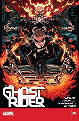 All-New Ghost Rider #7 by Damion Scott, Felipe Smith