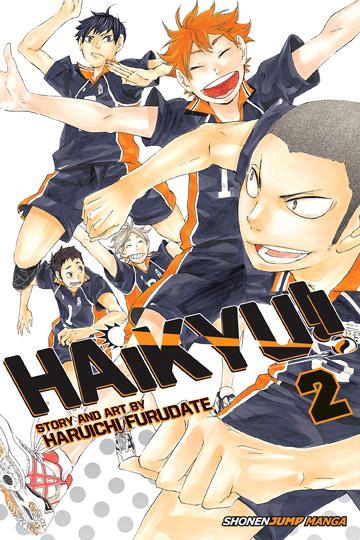 Haikyu!!, Vol. 02 by Haruichi Furudate