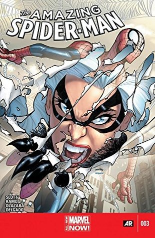 Amazing Spider-Man (2014-2015) #3 by Alex Trofin, Dan Slott, Edgar Delgado, Cosmin Olteanu, Linda Pricăjan, Mircea Pricăjan, Humberto Ramos, Victor Olazaba