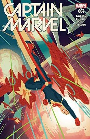 Captain Marvel #4 by Michele Fazekas, Kris Anka, Tara Butters