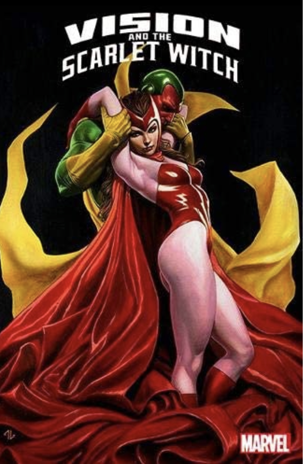 Vision And Scarlet Witch by Rick Leonardi, Don Heck, Steve Englehart, Bill Mantlo