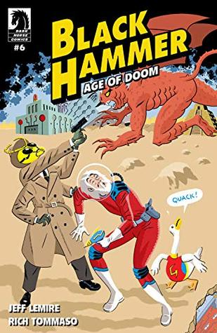 Black Hammer: Age of Doom #6 by Dave Stewart, Jeff Lemire, Rich Tommaso