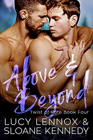 Above and Beyond by Lucy Lennox, Sloane Kennedy