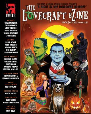 Lovecraft eZine issue 27: October 2013 by Josh Wanisko, Zach Shephard, William Meikle