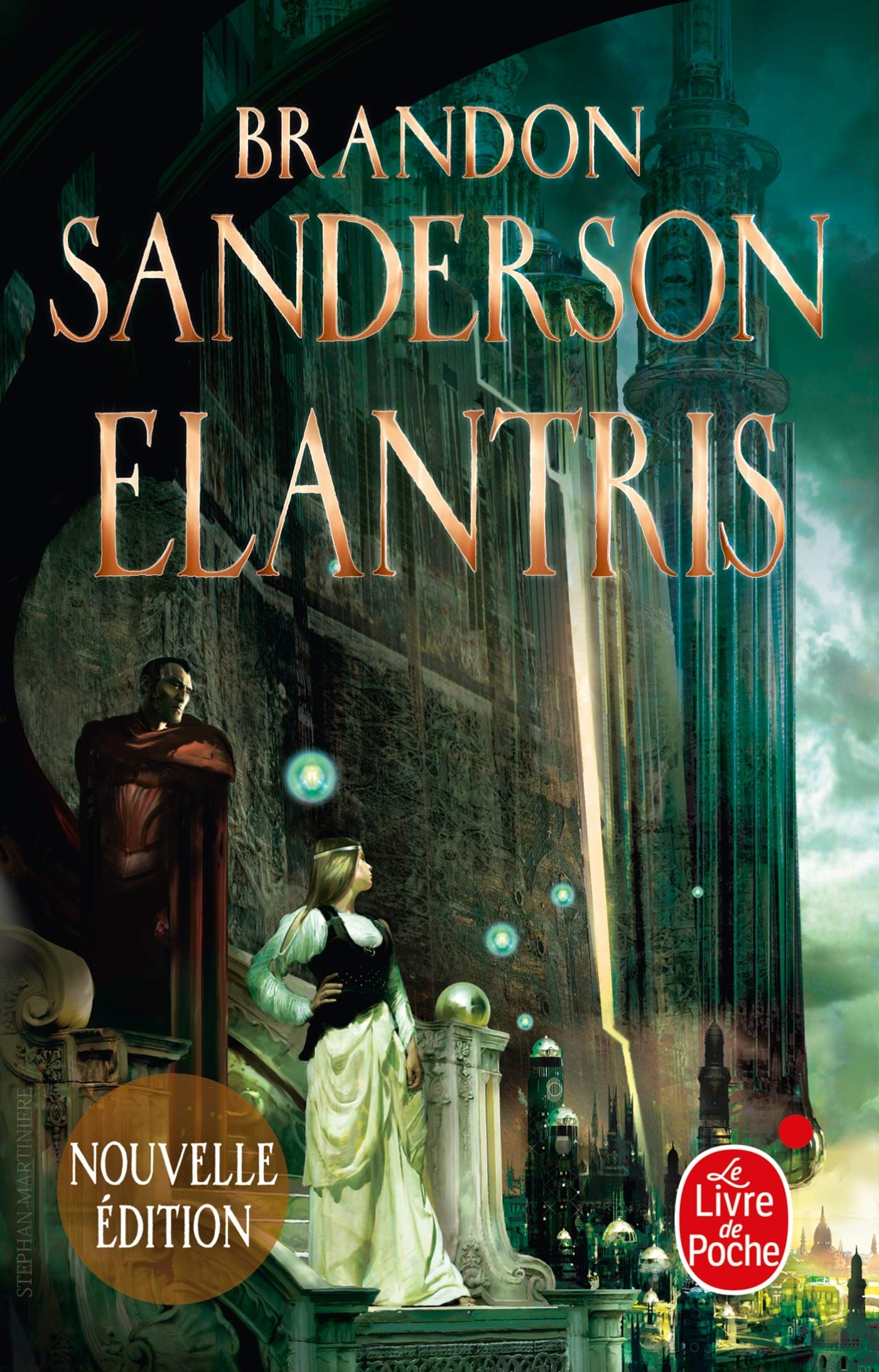 Elantris by Dan Wells, Brandon Sanderson