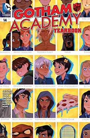 Gotham Academy #14 by Dustin Nguyen, Hope Larson, Brenden Fletcher, Derek Fridolfs, Katie Cook, Adam Archer, Kris Mukai
