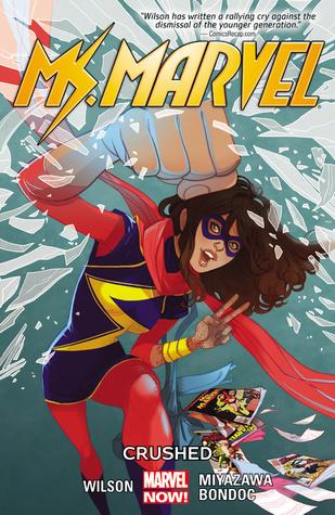Ms. Marvel, Vol. 3: Crushed by Elmo Bondoc, G. Willow Wilson, Takeshi Miyazawa