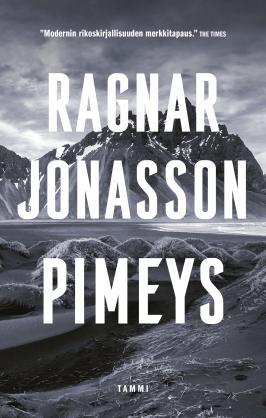 Pimeys by Ragnar Jónasson