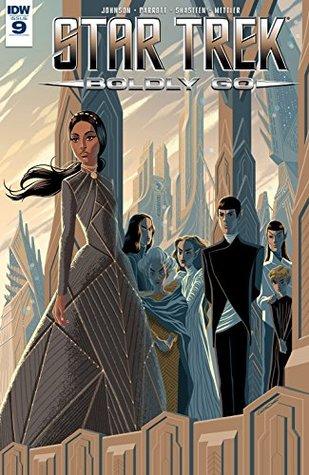 Star Trek: Boldly Go #9 by Tony Shasteen, Mike Johnson