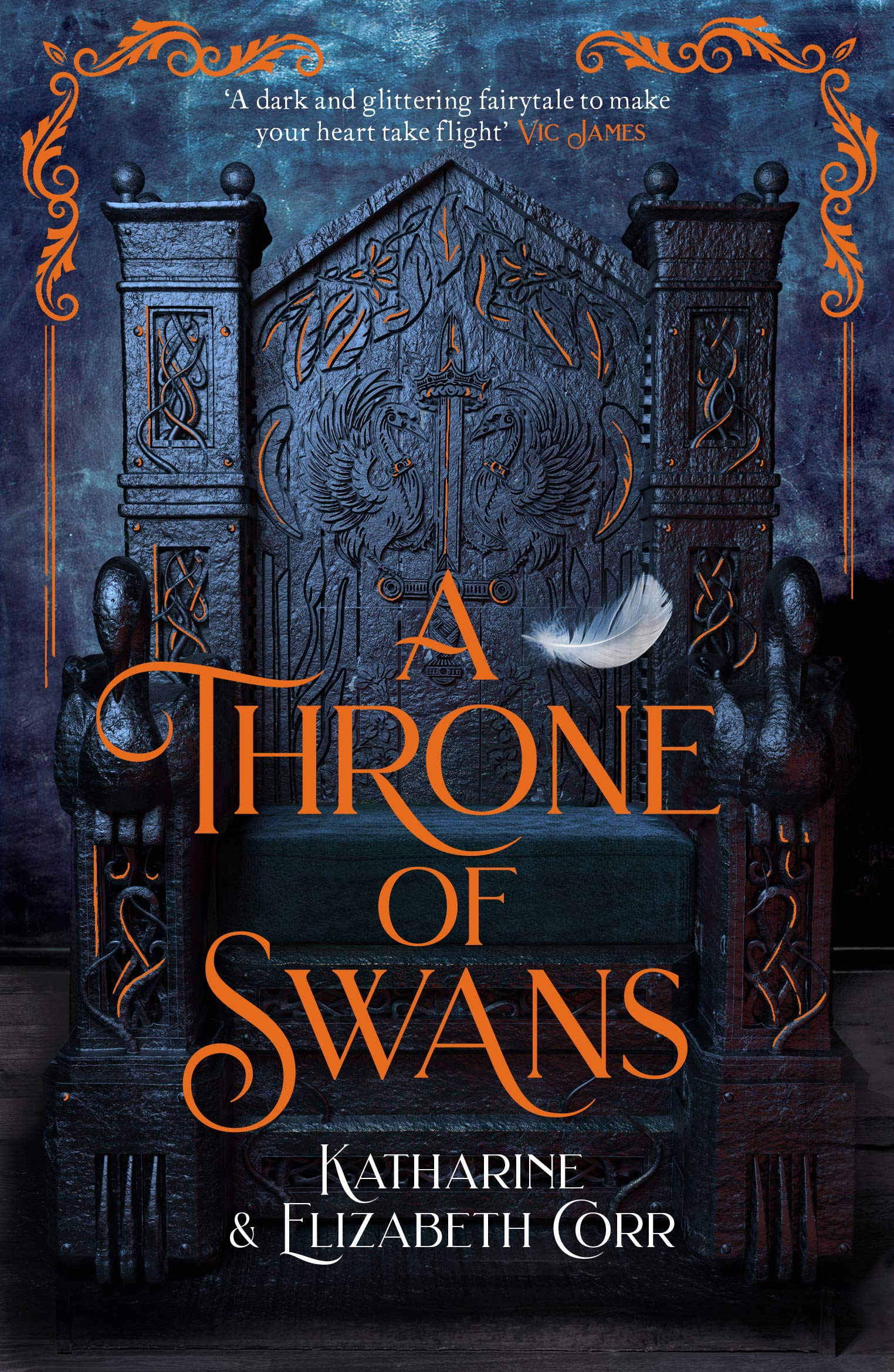 A Throne of Swans by Katharine Corr