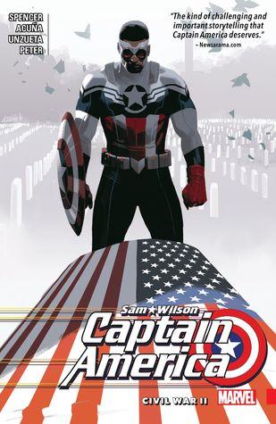 Captain America: Sam Wilson, Vol. 3: Civil War II by Nick Spencer, Ángel Unzueta, Daniel Acuña