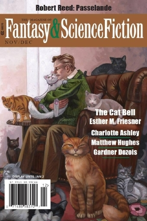 The Magazine of Fantasy & Science Fiction, November/December 2016 (The Magazine of Fantasy & Science Fiction, #728) by Minsoo Kang, James Beamon, Sandra McDonald, Ester M. Friesner, Charlotte Ashley, Robert Reed, Gardner Dozois, Albert E. Cowdrey, C.C. Finlay, Lilliam Rivera, Kurt Fawver, Matthew Hughes