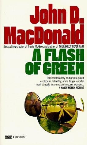 A Flash of Green (Fawcett Gold Medal) by John D. MacDonald