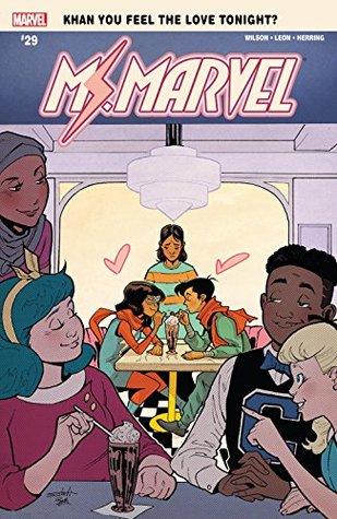 Ms. Marvel (2015-2019) #29 by Nico Leon, G. Willow Wilson, Valerio Schiti