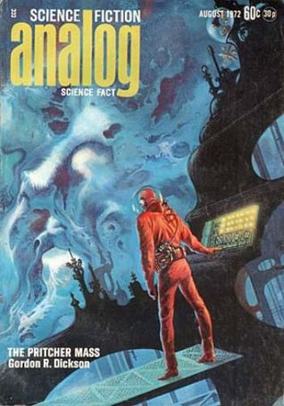 Analog Science Fiction and Fact, August 1972 by Jack Wodhams, Joseph Green, Jerry Pournelle, Ben Bova, Gary Alan Ruse, Gordon R. Dickson, George R.R. Martin, Vernor Vinge