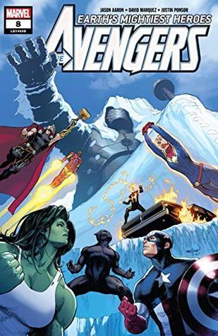 Avengers (2018-) #8 by David Marquez, Jason Aaron