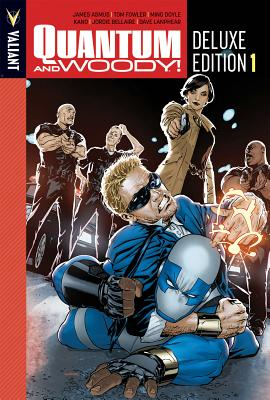 Quantum and Woody Deluxe Edition Book 1 by Tom Fowler, James Asmus