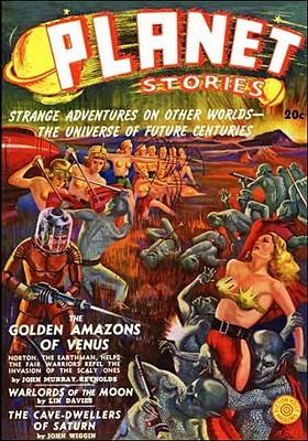 Planet Stories #1, Winter 1939 by John Murray Reynolds, Linton Davies, John Wiggin, Arnold Drake, Fletcher Pratt, Laurence Manning