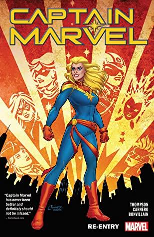 Captain Marvel, Vol. 1: Re-Entry by Annapaola Martello, Kelly Thompson, Carmen Carnero