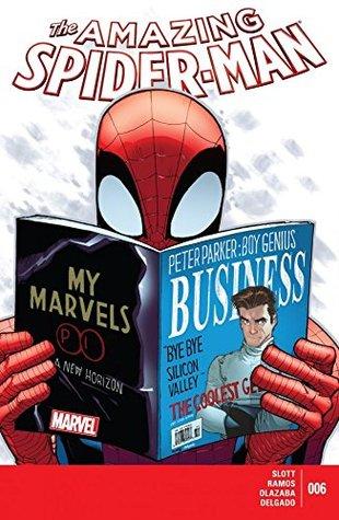 Amazing Spider-Man (2014-2015) #6 by Alex Trofin, Dan Slott, Edgar Delgado, Ionuț Olteanu, Linda Pricăjan, Mircea Pricăjan, Humberto Ramos, Victor Olazaba