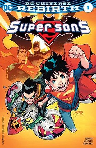 Super Sons #1 by Alejandro Sanchez, Dennis Culver, Peter J. Tomasi, Jorge Jimenez, Chris Burnham