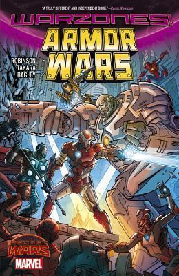 Armor Wars: Warzones! by Marcio Takara, James Robinson