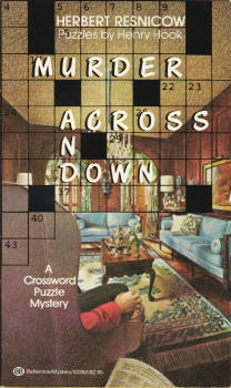 Murder Across and Down by Henry Hook, Herbert Resnicow