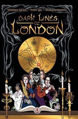 Dark Lines of London by Tony Lee