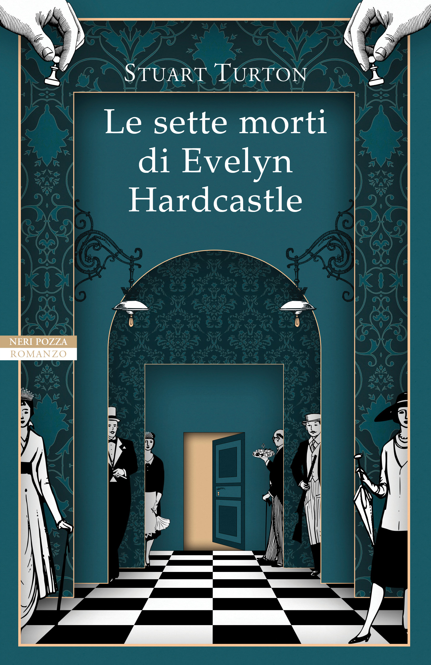 Le sette morti di Evelyn Hardcastle by Stuart Turton