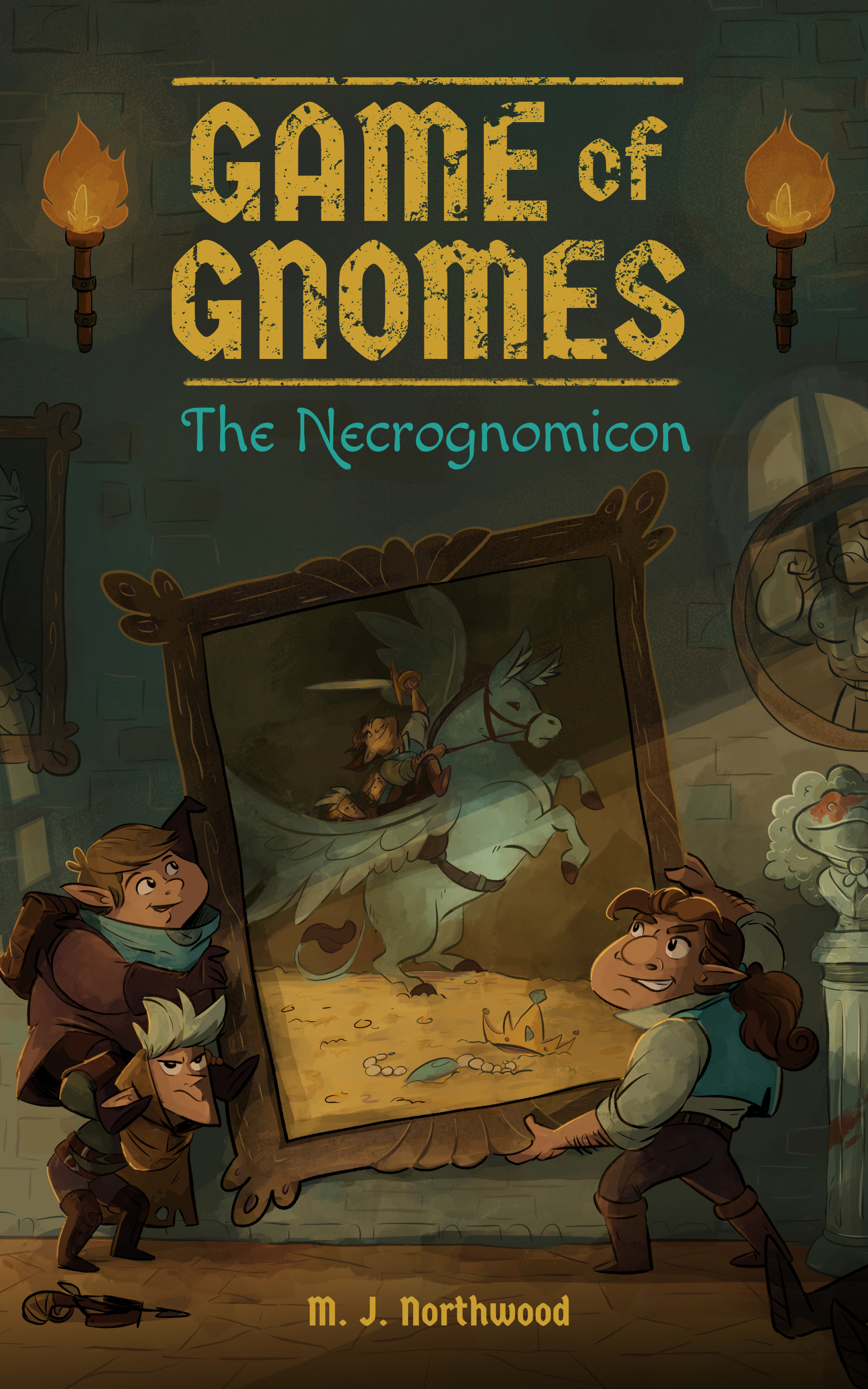 Game of Gnomes: The Necrognomicon by M.J. Northwood