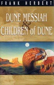 Dune Messiah & Children Of Dune by Frank Herbert
