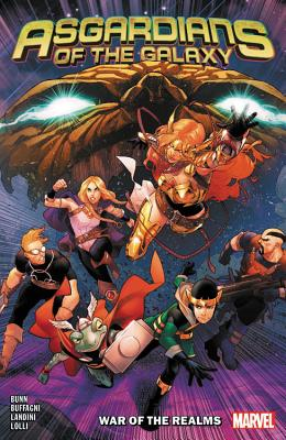 Asgardians of the Galaxy, Vol. 2: War of the Realms by Stefano Landini, Matteo Lolli, Federico Blee, Luca Maresca, Cullen Bunn, Matteo Buffagni, Paolo Villanelli