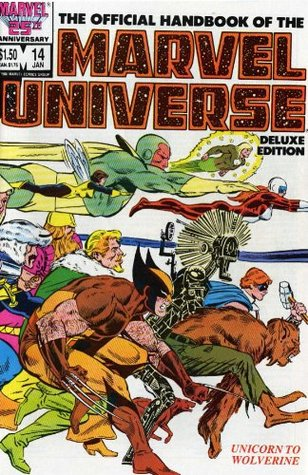 Essential Official Handbook of the Marvel Universe - Deluxe Edition, Vol. 3 by Dave Cockrum, Mark Gruenwald, Bob Layton, John Byrne, Eliot R. Brown, Peter Sanderson
