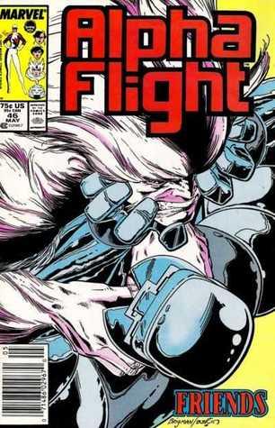 Alpha Flight #46 by Jim Shooter, Jim Novak, Bob Sharen, June Brigman, Carl Potts, Terry Austin, Whilce Portacio, Bill Mantlo