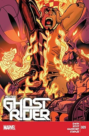 All-New Ghost Rider #9 by Damion Scott, Felipe Smith