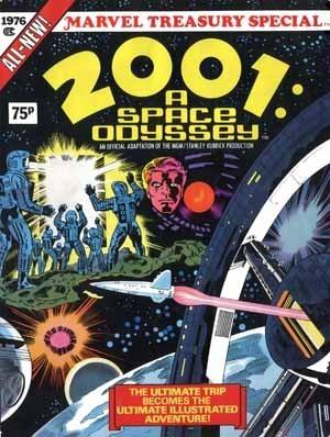 2001: A Space Odyssey (Treasury edition) by Stanley Kubrick, Arthur C. Clarke, Jack Kirby