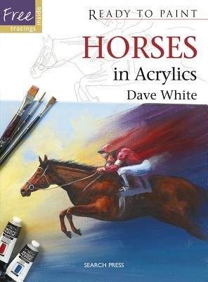 Horses in Acrylics by Dave White