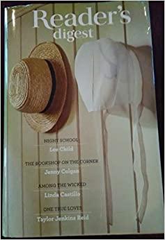 Night School / The Bookshop on the Corner / Among the Wicked / One True Loves by Jenny Colgan, Taylor Jenkins Reid, Lee Child, Linda Castillo