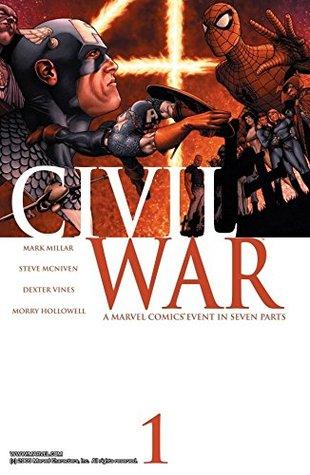 Civil War #1 by Steve McNiven, Mark Millar