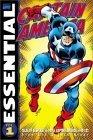 Essential Captain America, Vol. 1 by Dick Ayers, Gil Kane, George Tuska, John Romita Sr., Stan Lee, Jack Kirby, Jack Sparling